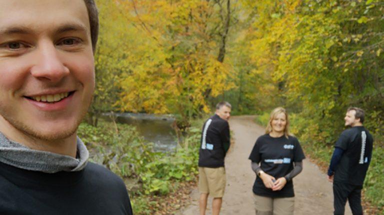 Optasia team put their back into World Osteoporosis Day!